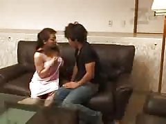 Big-busted Japanese Housewife
