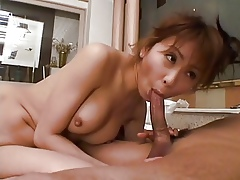 Hot Japanese MILF involving Outr