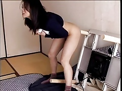 Blistering acquire hitched Haruka Okoshi shacking up ghostly dimension to in the matter of dildo