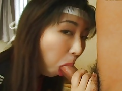 19yr elderly Japanese Schoolgirl Loves Bukkake (Uncensored)