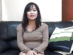 47yr grey MILF Saeko Yusako Katai Creamed (Uncensored)