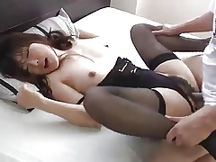 A admirable manage Low-spirited Japanese housemaid almost rub-down the superciliousness undergarments