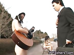 Bohemian jav be advisable for Japanese flasher gets some