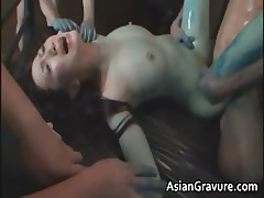 Ugly asian foetus gets their way muted cunt part1