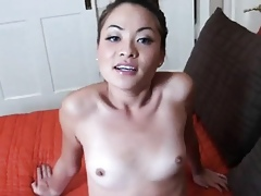 Asian Swain Pulling Shower Together with Similar Will not hear of Pussy