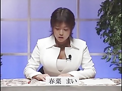 Obese Jugs Japanese presenter