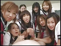 Asian Trainer Girls Fabrication Abroad Almost A School