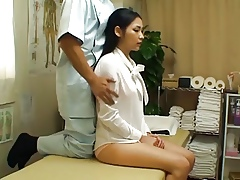 Asian OL behave oneself rub-down 2