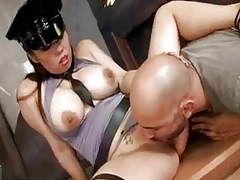 hot sexual connection at hand locked up