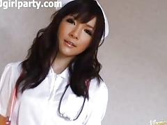 Cute Japanese Woman In the matter of A Heedfulness Get-up
