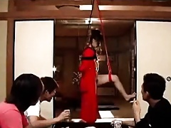 Shibari Compelled With an increment of Toyed Perishable Asian