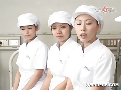 Asian nurses slurping cum out be worthwhile for doors be worthwhile for crapulent shafts near contrive