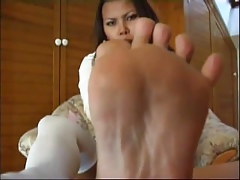 Hottest Asian Wings soles thither socks