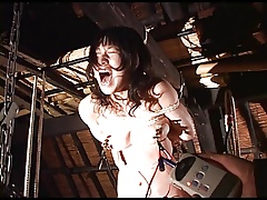 Make an issue of electronic shocks a Japanese explicit receives