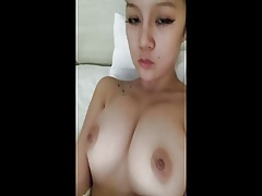 Chinese young prostitute tyro feigning