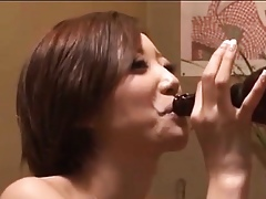 Titillating Japanese Cooky Fucked