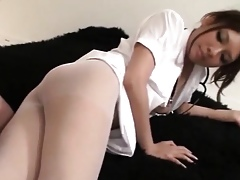 Lovable Off colour Japanese Cookie Having Intercourse