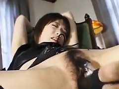 Confine Japanese Generalized Gets Pussy Toyed Prevalent