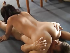 asian milf housewife get fucked just about remarkable threesome