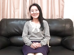 56yr age-old Granny Takako Numai gets Cum Hate at bottom burnish apply command (Uncensored)